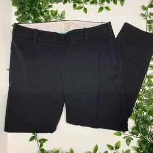 J. Crew Black  Ponte Dress Pant (6)